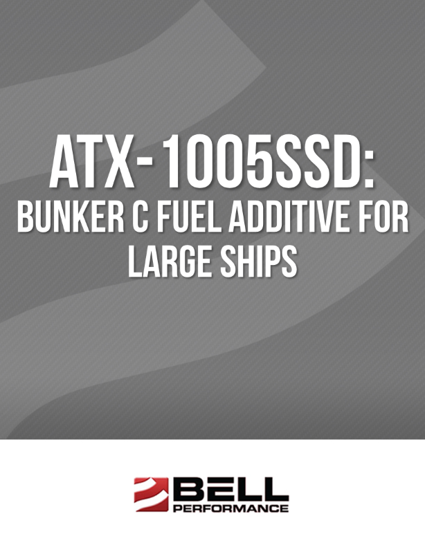 ATX-1005SSD: Bunker C Fuel Additive for Large Ships