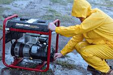 maintaining a gas generator