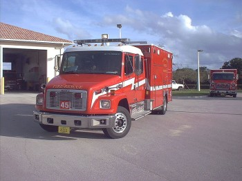 fire trucks get better performance with Dee-Zol