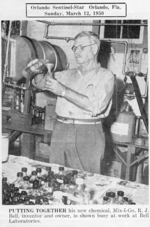 Robert J. Bell circa 1950