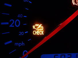 check engine light ethanol gas
