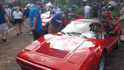concours classic cars