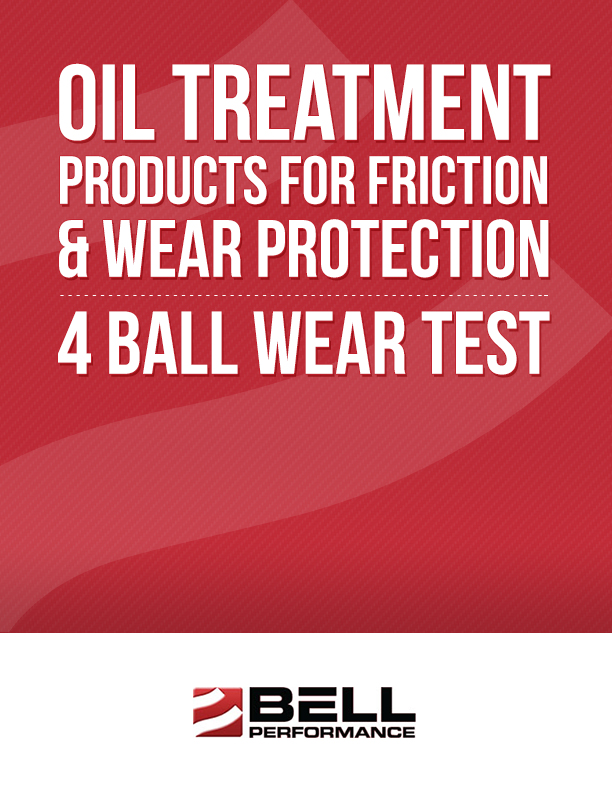 Oil Treatment Products for Friction & Wear Protection 4 Ball Wear Test