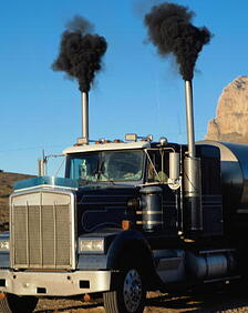 carbon buildup in diesel engines