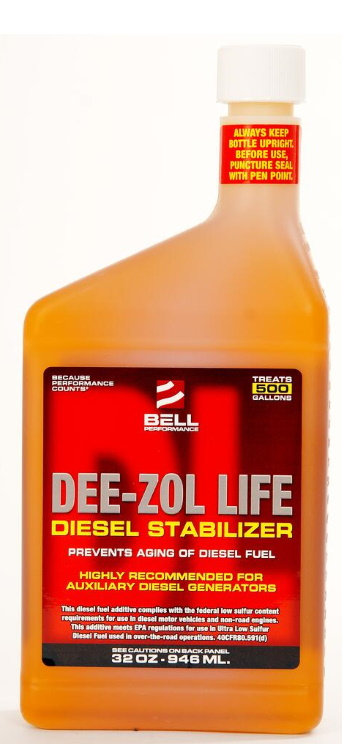Dee-Zol Life Diesel Stabilizer