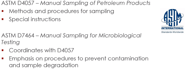 ASTM standrad guides for sampling