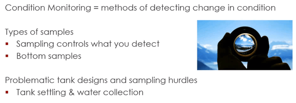 conidion monitoring basics starting with sampling