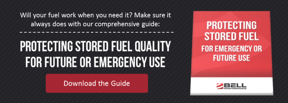 Protecting Stored Fuel Quality for Emergency Use