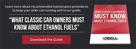 What Classic Car Owners Must Know About Ethanol Fuels